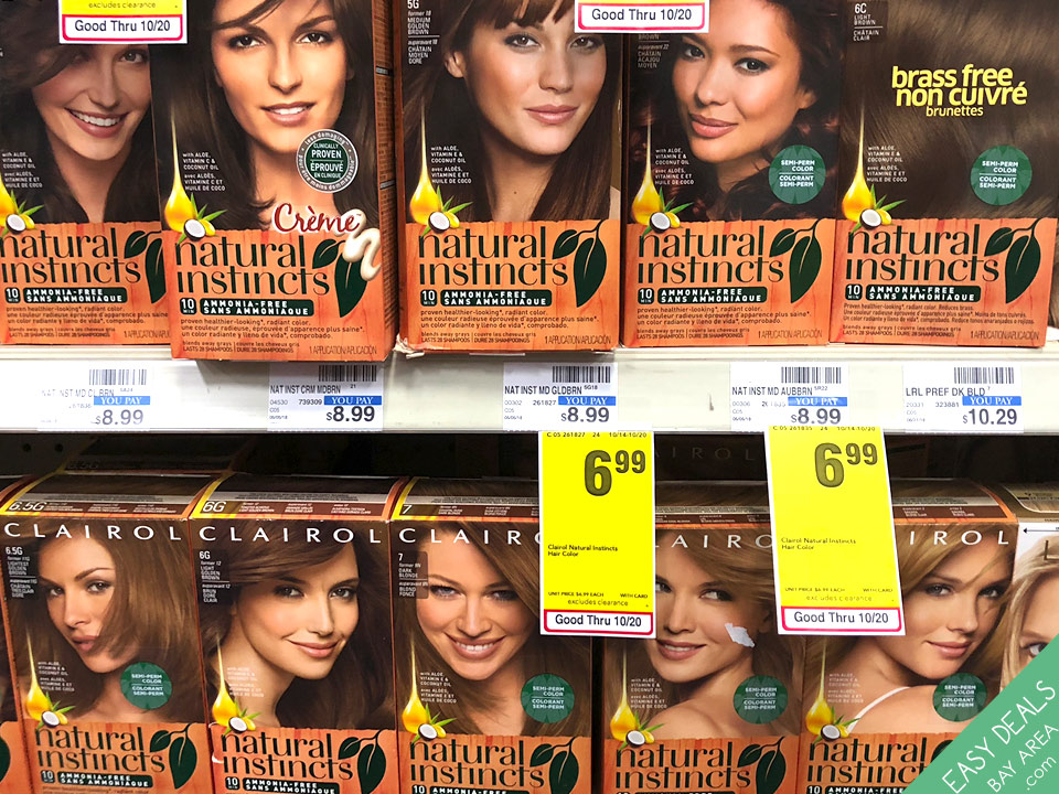 Clairol Natural Instincts Hair Color Weekly Coupon Deals In The