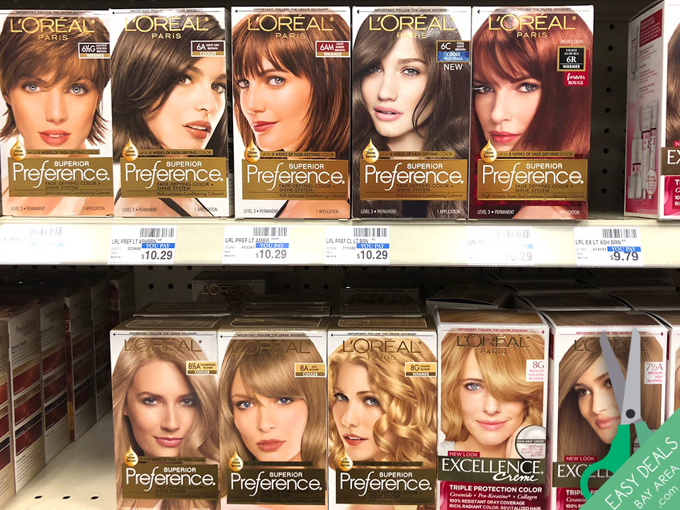l'oreal Hair color